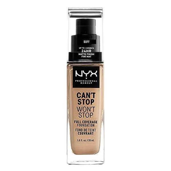 Fond de Ten Fluid Can't Stop Won't Stop NYX (30 ml) 5